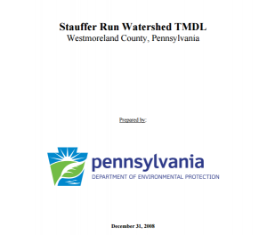 Stauffer Run TMDL Photo Front