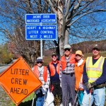 JCWA Adopt a Highway crew along Clay Pike Road