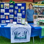 JCWA Vice President Kristina Tarasan at our booth at the 2013 Picnic in the Park